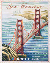 United Illustrators Series- San Francisco