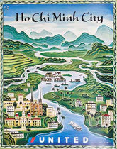 United Illustrators Series- Ho Chi Minh City