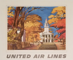 United Calendar Series - Autumn in New England