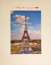 TWA - Paris Eiffel Tower