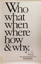 The New York Times - Who, What, When, Where, How & Why