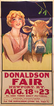 Donaldson Fair Newport Kentucky August 18 - 23 (Girl & Cow)