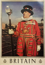 Britain, Tower of London,  The Chief yeoman warder
