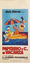 Walt Disney Presents Paperino E C. In Vacanza