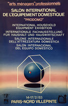 Salon International De L'Equipement Domestique 1983