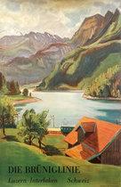 Die Bruniglinie Luzern- Interlaken Schweiz (Swiss German Variant)