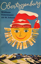Obertoggenburg (Sun with Winter Hat)