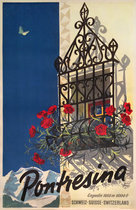 Pontresina (Window with Flowers)