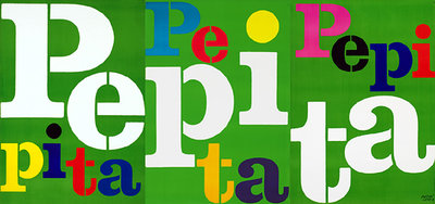 Pepita (3 Sheet Panel Triptych)