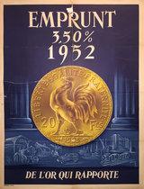 Emprunt 3.50% 1952