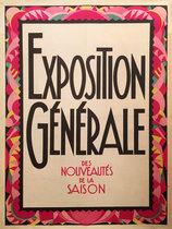Exposition Generale Des Nouveautes De La Saison