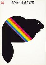 Montrea 1976, Montreal Olympics (Beaver)