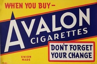Avalon Cigarettes- Blue & Yellow