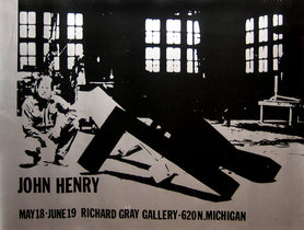 John Henry Exhibition at Richard Gray Gallery