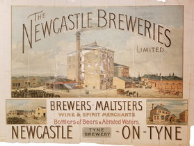The Newcastle Breweries, Newcastle on Tyne