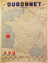 Dubonnet - Map of France