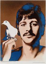 Beatles Richard Avedon Look Magazine Insert Ringo