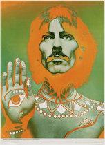 Beatles Richard Avedon Look Magazine Insert George