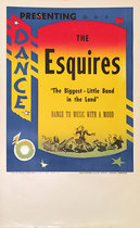 Rainbow Roll Band Poster The Esquires