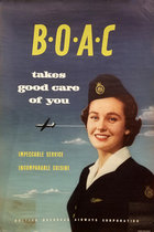 BOAC Takes Good Care of You (Flight Attendant) 20 x 30