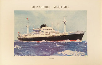 Messageries Maritimes - Tahitien