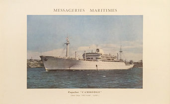Messageries Maritimes - Cambodge