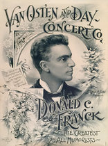 Van Osten and Day Concert Co (Donald C. Franck the Greatest of All Humorists)