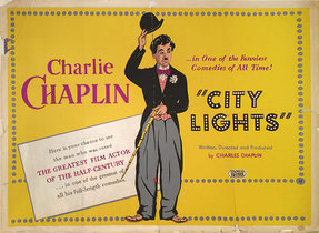 Charlie Chaplin City Lights 50's Re-Release (Silkscreen)