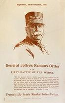 General Joffre's Famous Order