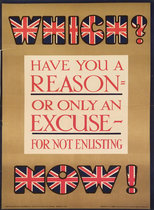 Which? Have you a Reason or Only an Excuse for not Enlisting?