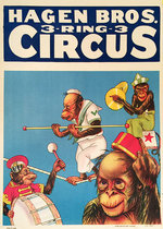 Hagen Bros 3 Ring Circus (Chimpanzees)
