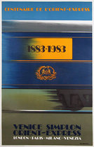 Venice Simplon Orient Express 1883-1983