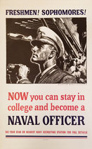Freshmen! Sophomores! Become a Navel Officer