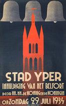 Stad Yper Inhuldiging van het Belfort op Zondag (Stad Ieper, Ypres)