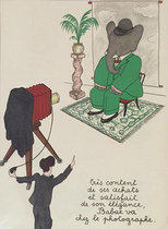 Babar Book Page Illustration Babar va Chez le photographe