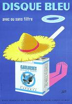 Disque Bleu Filtre Gauloises (Sun Hat)