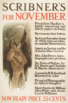 Scribner's for November (Man Yelling)