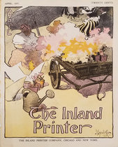 The Inland Printer April (Flower Cart)