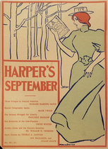 Harper's September (Woman Reading)