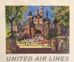 United Calendar Series - Disneyland Anaheim California
