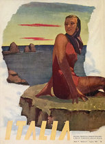Italia (Magazine Cover, Sunbather)
