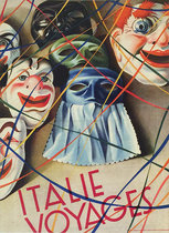 Italie Voyages (Magazine Cover, Masks & Carnivale)