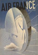 Air France Revue (Magazine Cover, Pegasus Logo)
