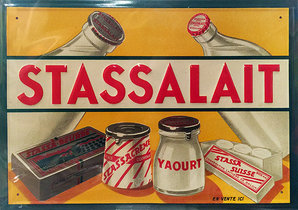 Stassalait Dairy (Tin Sign)