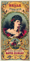 The Belle of Virginia (Cigar Label)