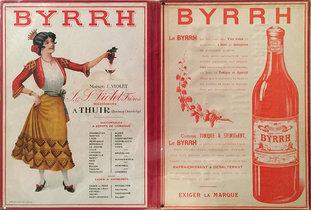 Byrrh Maison L. Violet J & S Violet Freres (Menu)