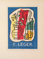 F. Leger Louis Carre (Mourlot's Art in Posters)