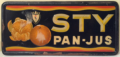 STY Pan-Jus (Tin Sign)