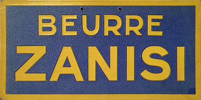 Beurre Zanisi (Sign)