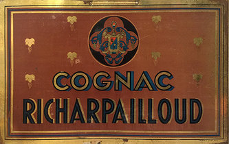 Cognac Richarpailloud (Tin Sign)